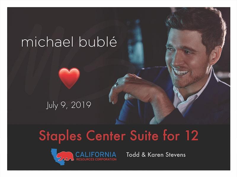 Michael Buble in Concert
