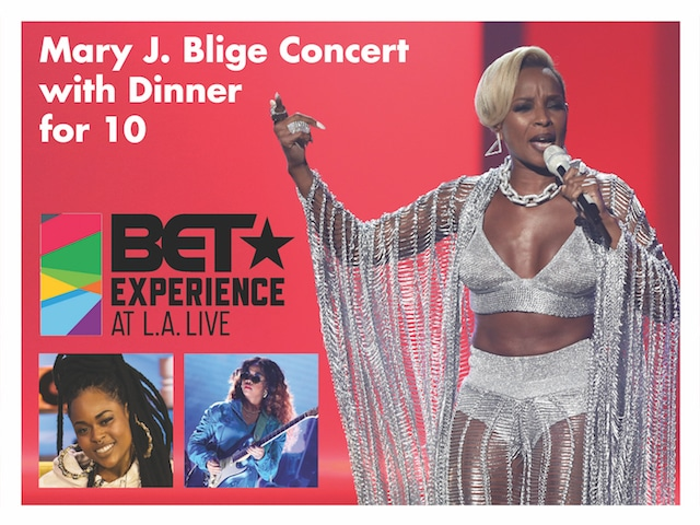 Mary J. Blige & BET Experience
