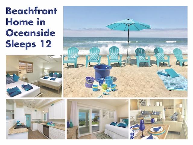 Oceanside Beach Home