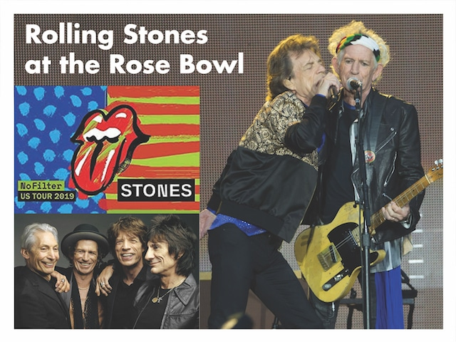 Rolling Stones at the Rose Bowl