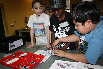 Boys and Girls Club Santa Clarita robotics