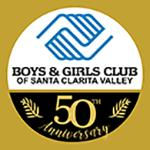Boy & Girls Club Santa Clarita 50th Anniversary Logo