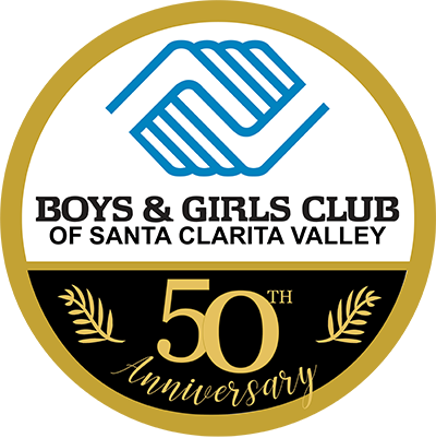 Boy & Girls Club Santa Clarita 50th Anniversary Logo - Big